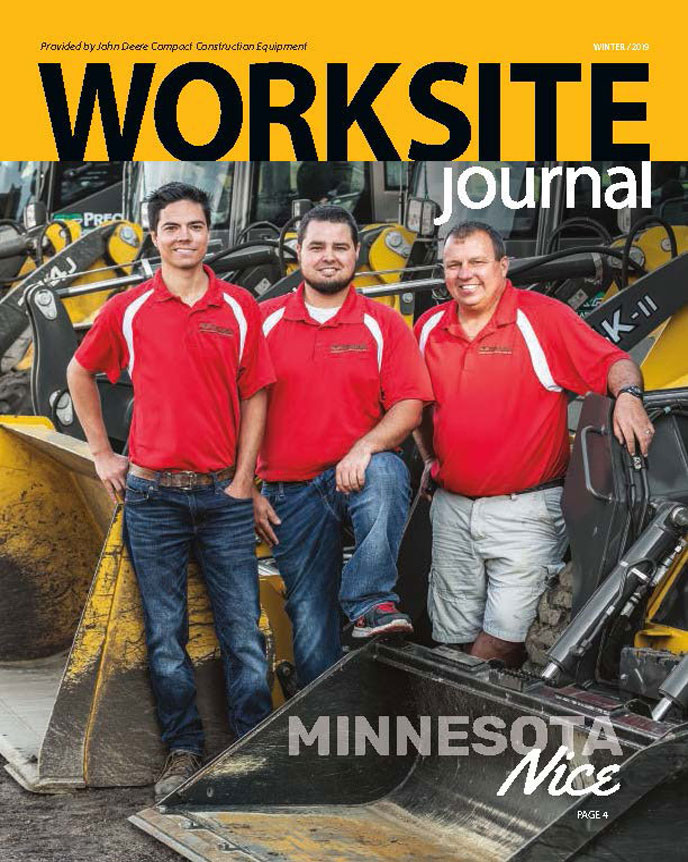 Image of the cover of the most current issue of the worksite journal