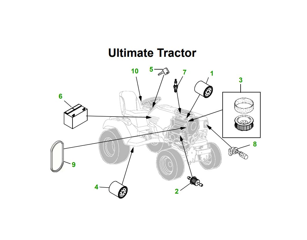 "X728 62"" Lawn Tractor"