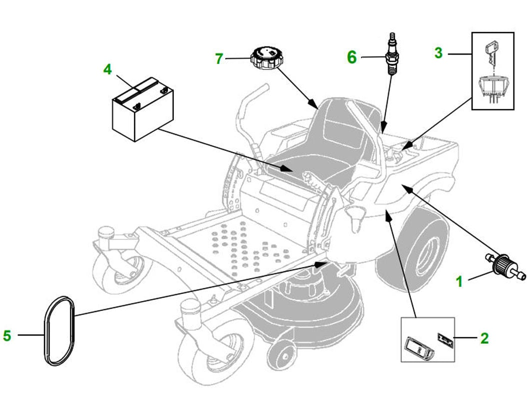 Commercial U0026 Residential Zero Turn Mowers Manual Guide
