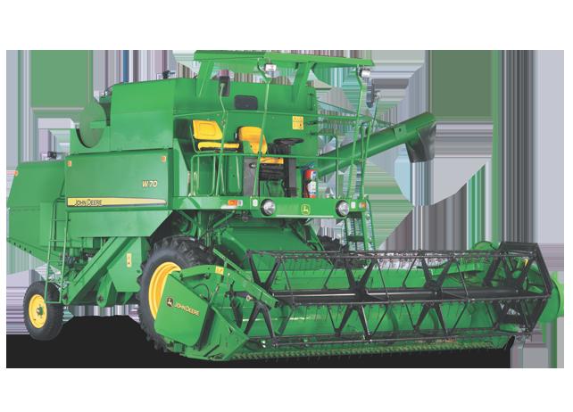 W70 Combine Harvester Grain Harvesting John Deere Ssa