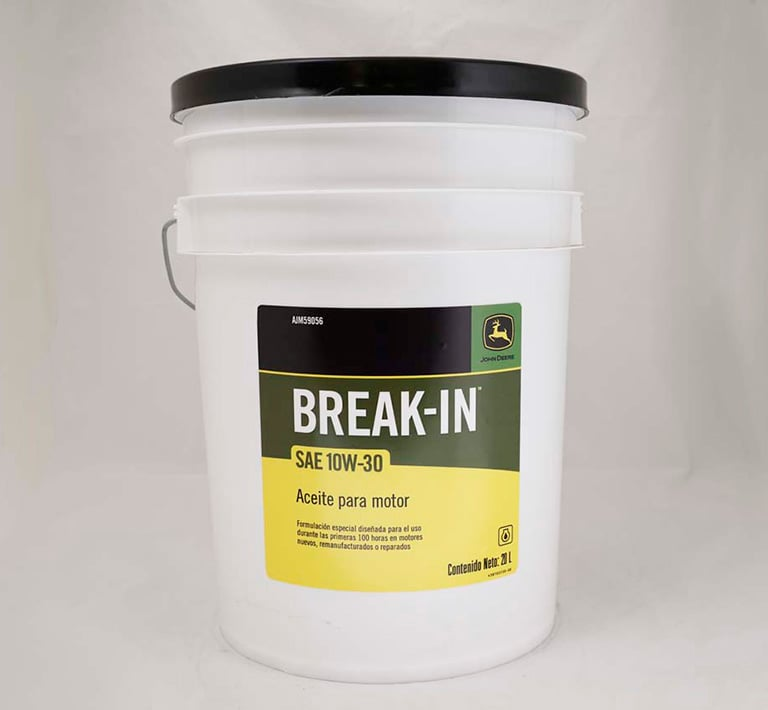 Aceites de asentamiento para motor - Break-In