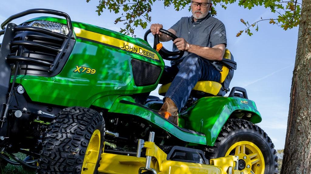 Riding Mowers 4 Wheel Steering Lawn Tractors John Deere Us