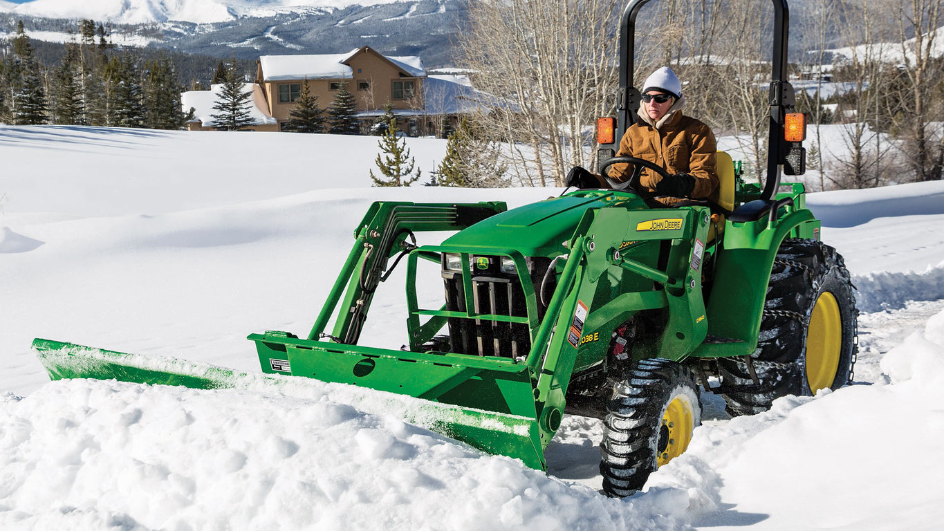 Snow Removal Equipment | Frontier AF11E Front Blades | John