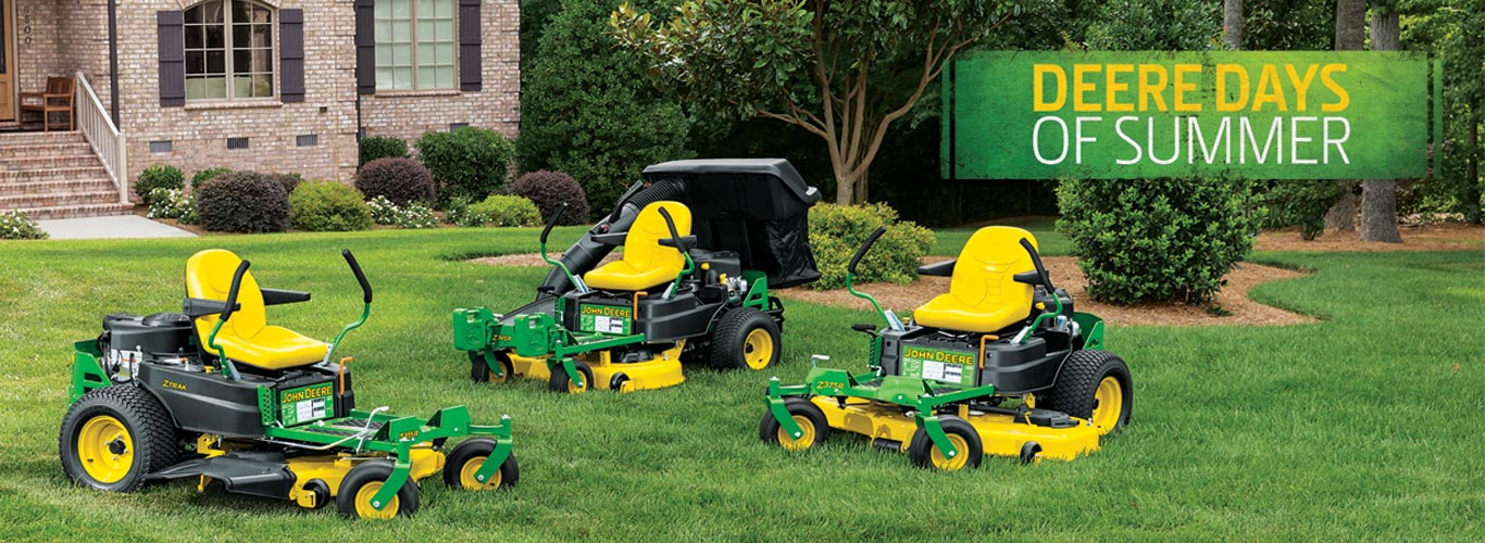 Tractors And Mowers Sales Event Deere Days Of Summer
