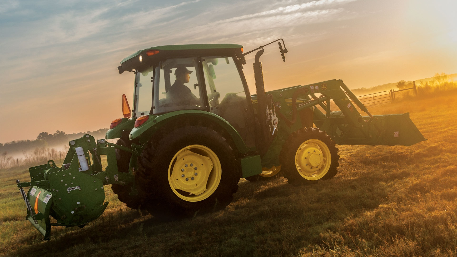View 0% for 60 Months 5E Series (45-75 hp) Tractors offer