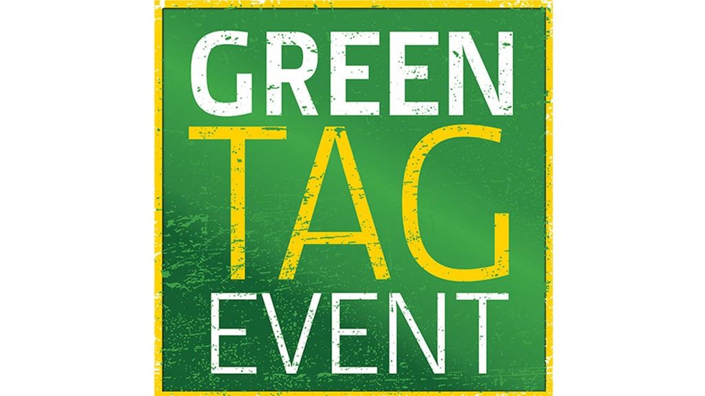 Green Tag Event