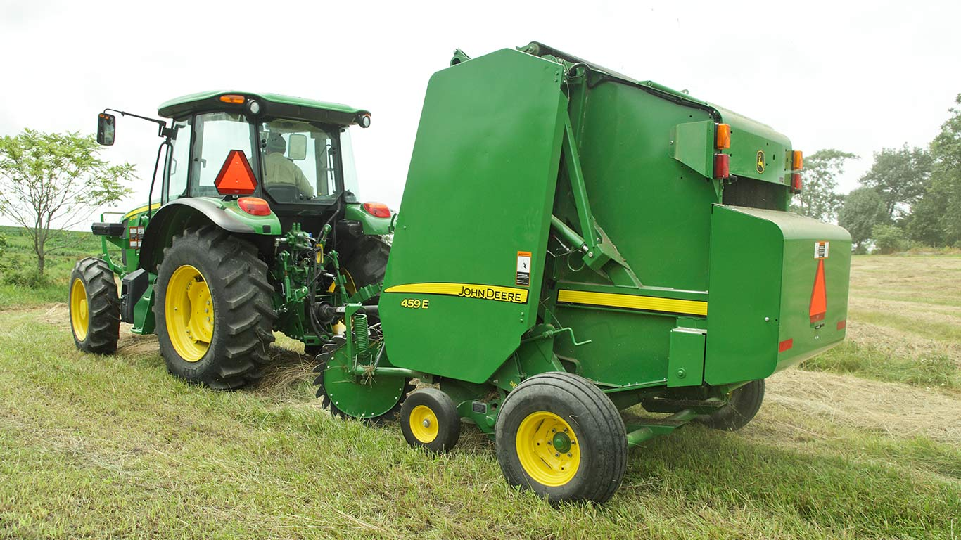 Tractors And Mowers Sales Event Green Fever John Deere Us 180 Wiring Harness 459e Baler In Field