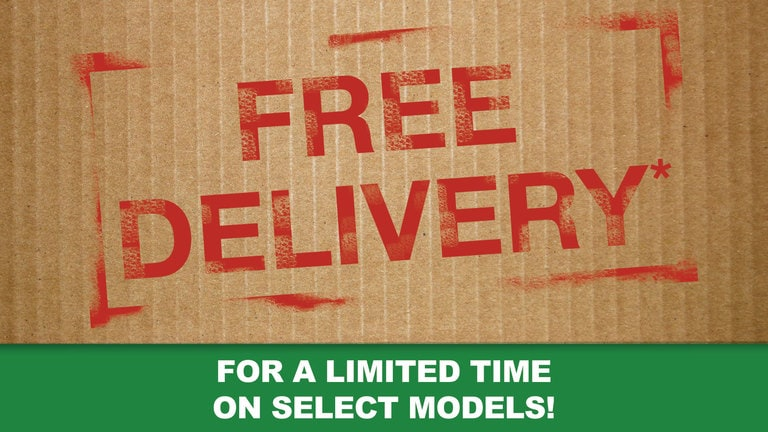 Free Delivery† When You Buy Online