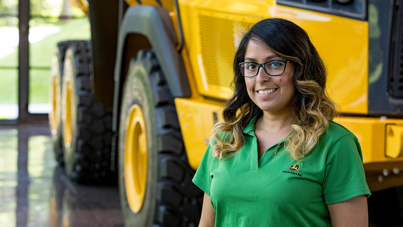 Meet some of the John Deere employees and find out why they love working here.