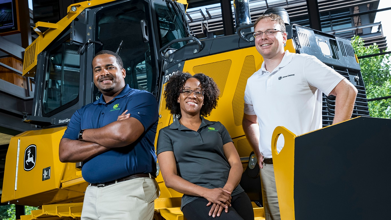 Find out more about mid-career openings at John Deere