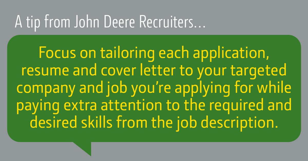 Tip from Recruiters Graphic