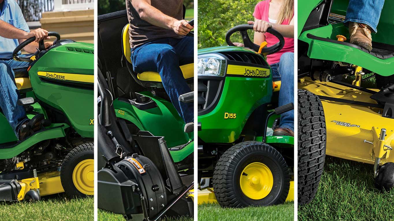 lawn tractors x300 select series tractors john nbsp deere us rh deere com