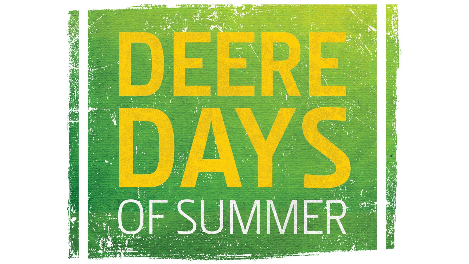 Deere Days of Summer logo