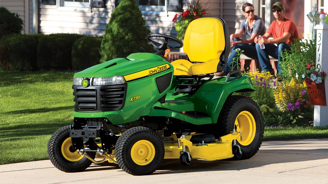 Lawn Tractors X300 Select Series Johnnbspdeere Us Wiring Diagram As Well John Deere Tractor Diagrams On Sitting Front