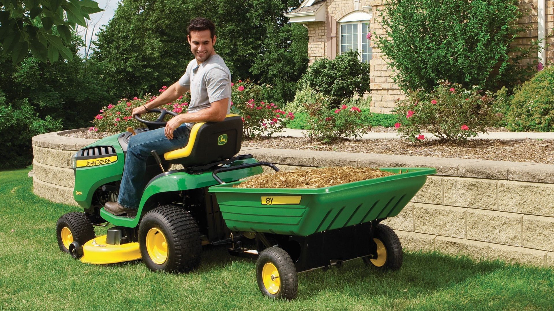 Luxury image for garden tractors for sale for Lawn and garden implements