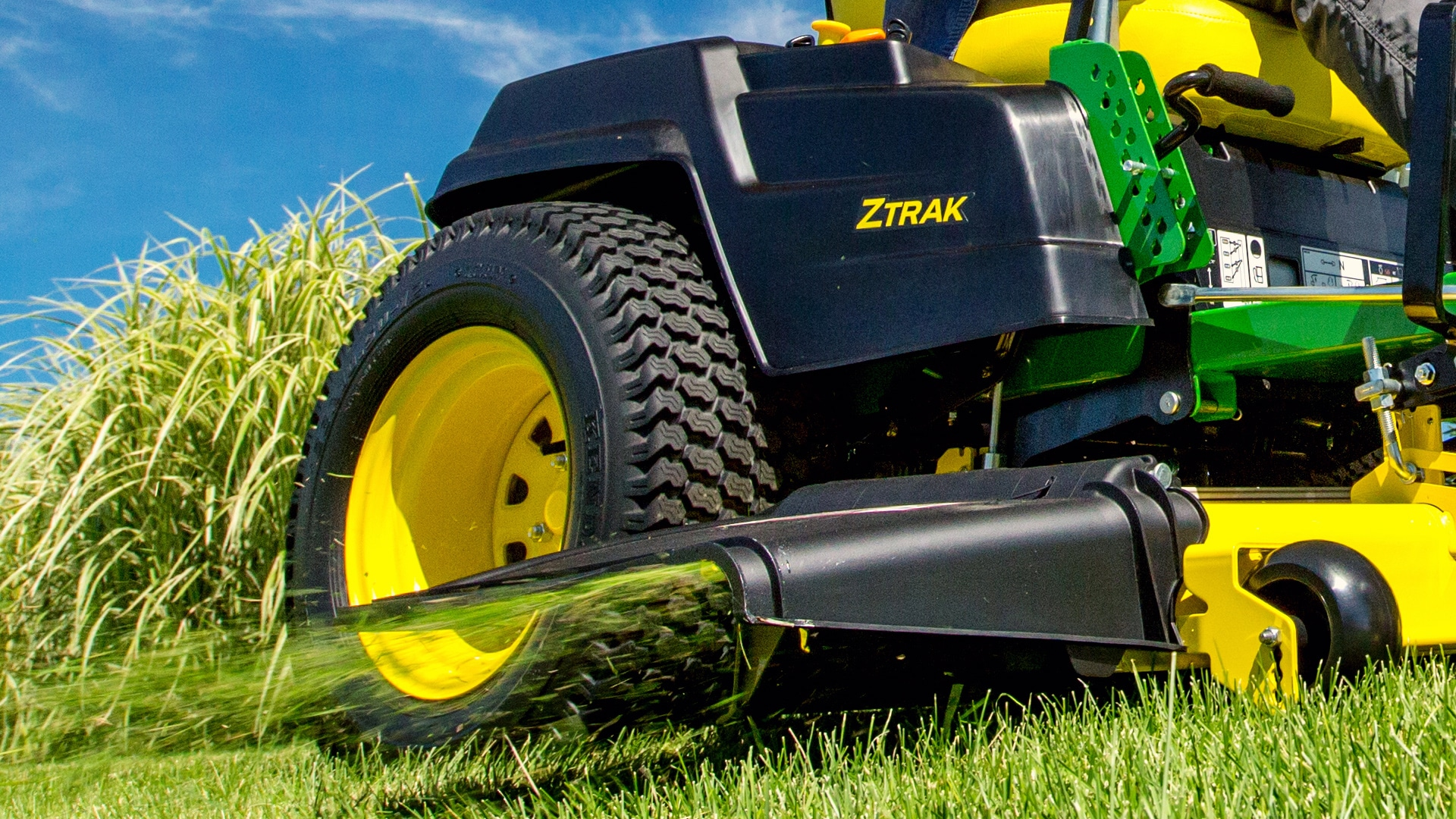 Riding Lawn Mower Attachments | John Deere US