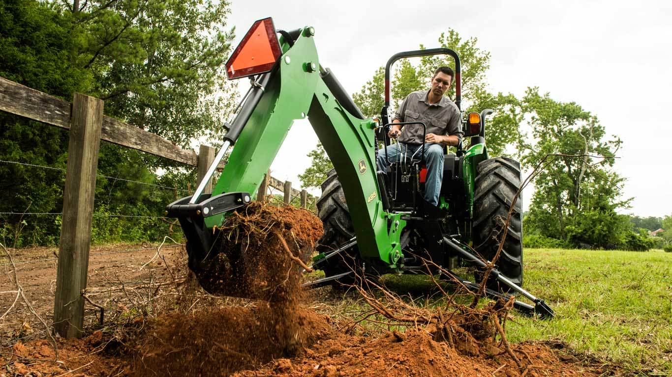 John Deere Backhoe Attachment >> Backhoes 485 Backhoe John Deere Us