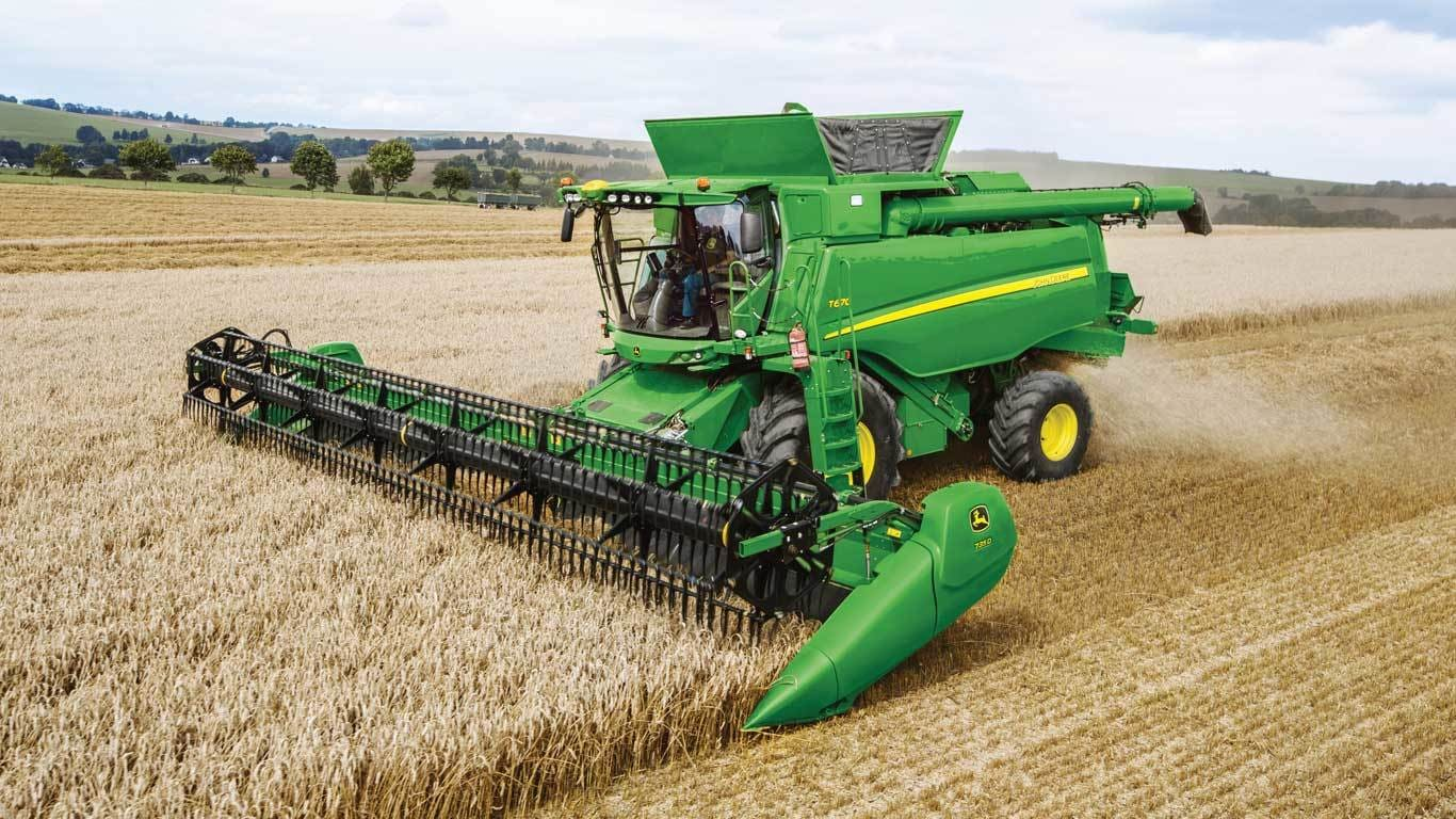 Grain Harvesting S770 Combine John Deere Us Box Fuse T670