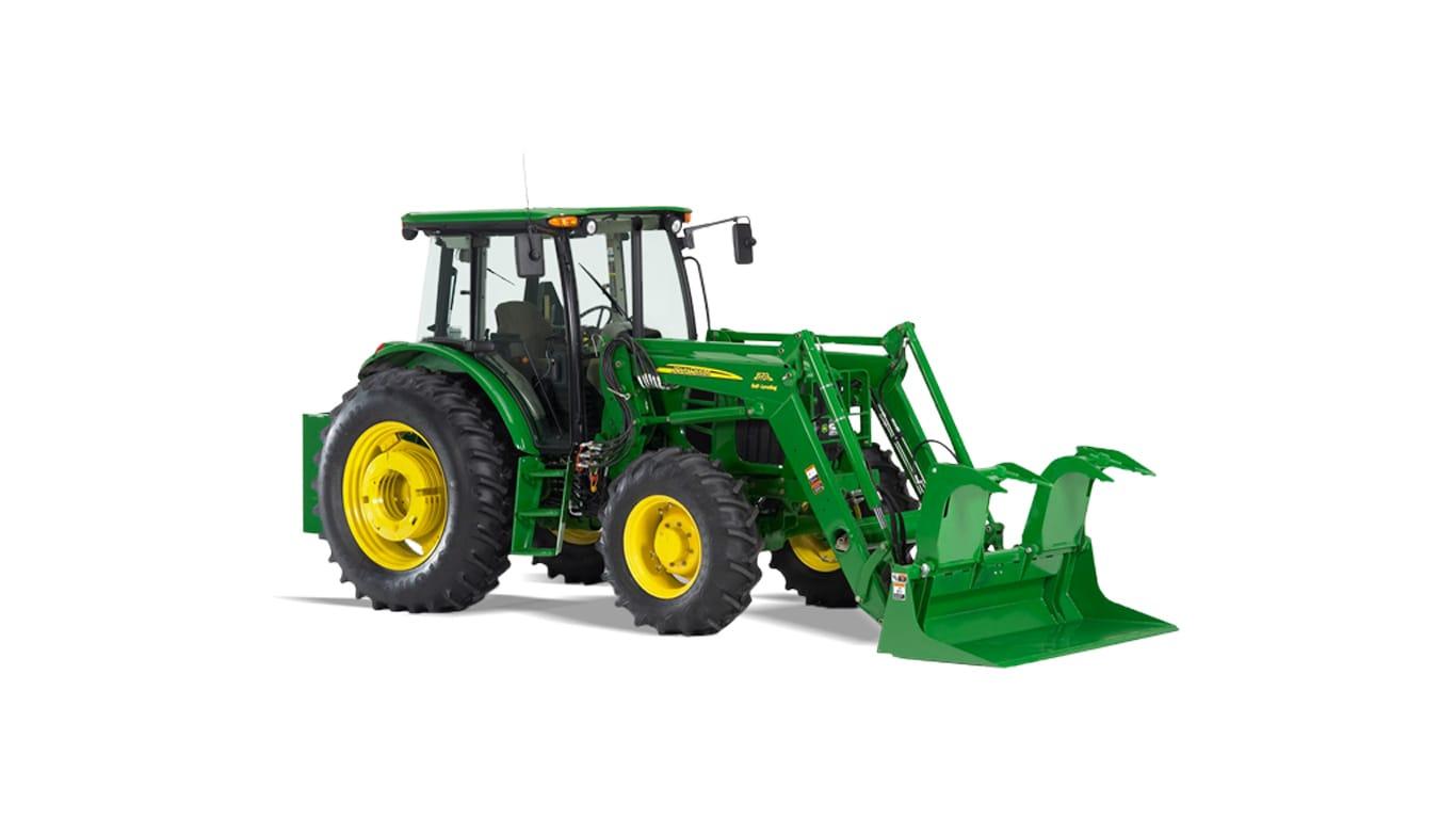 Jd Tractor Forks : Loader attachments frontier ap pallet forks john