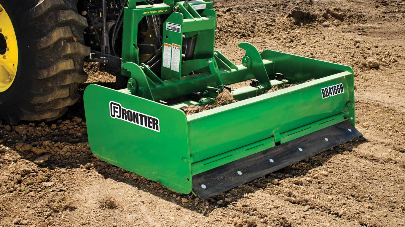 Landscaping Equipment | Frontier BB41 Box Blades | John Deere US