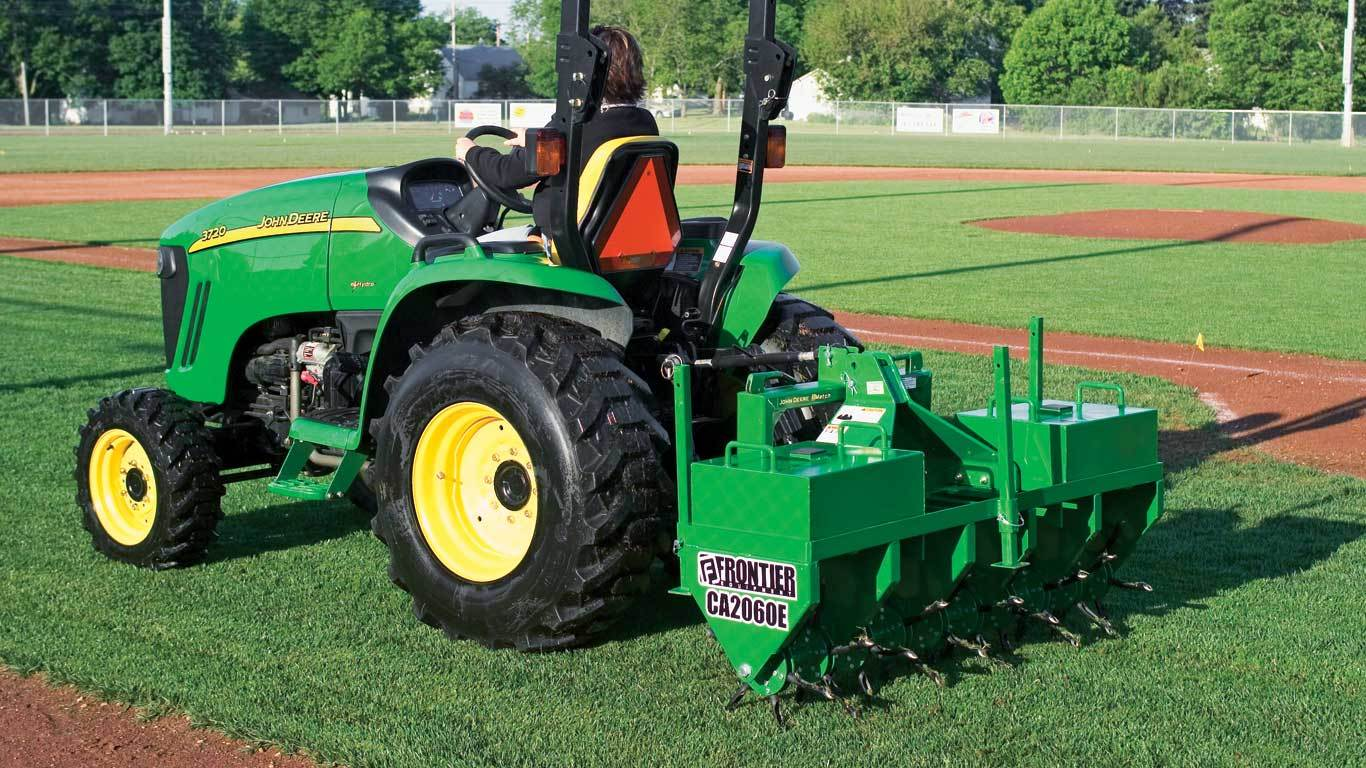 Field image of CA20E Series Core Aerator