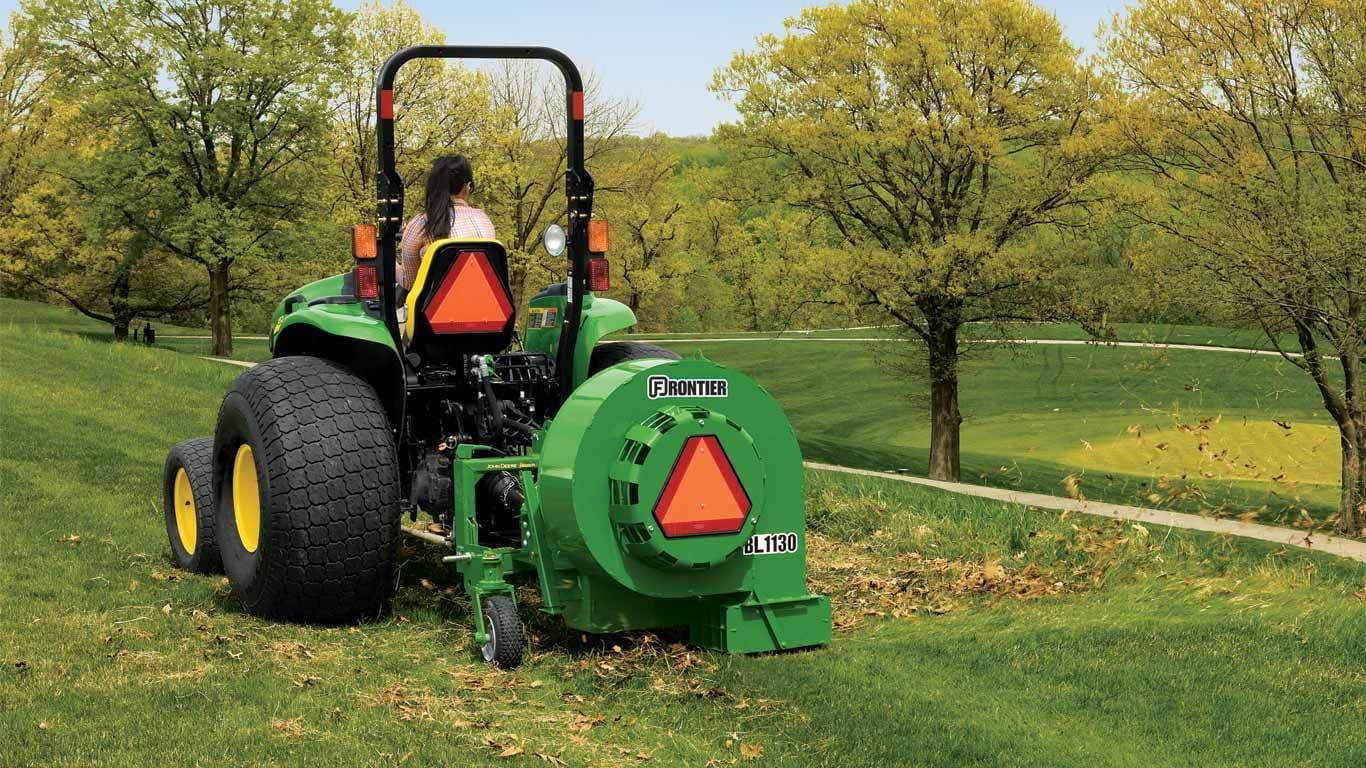 Two Point Tractor : Landscaping equipment frontier bl point debris