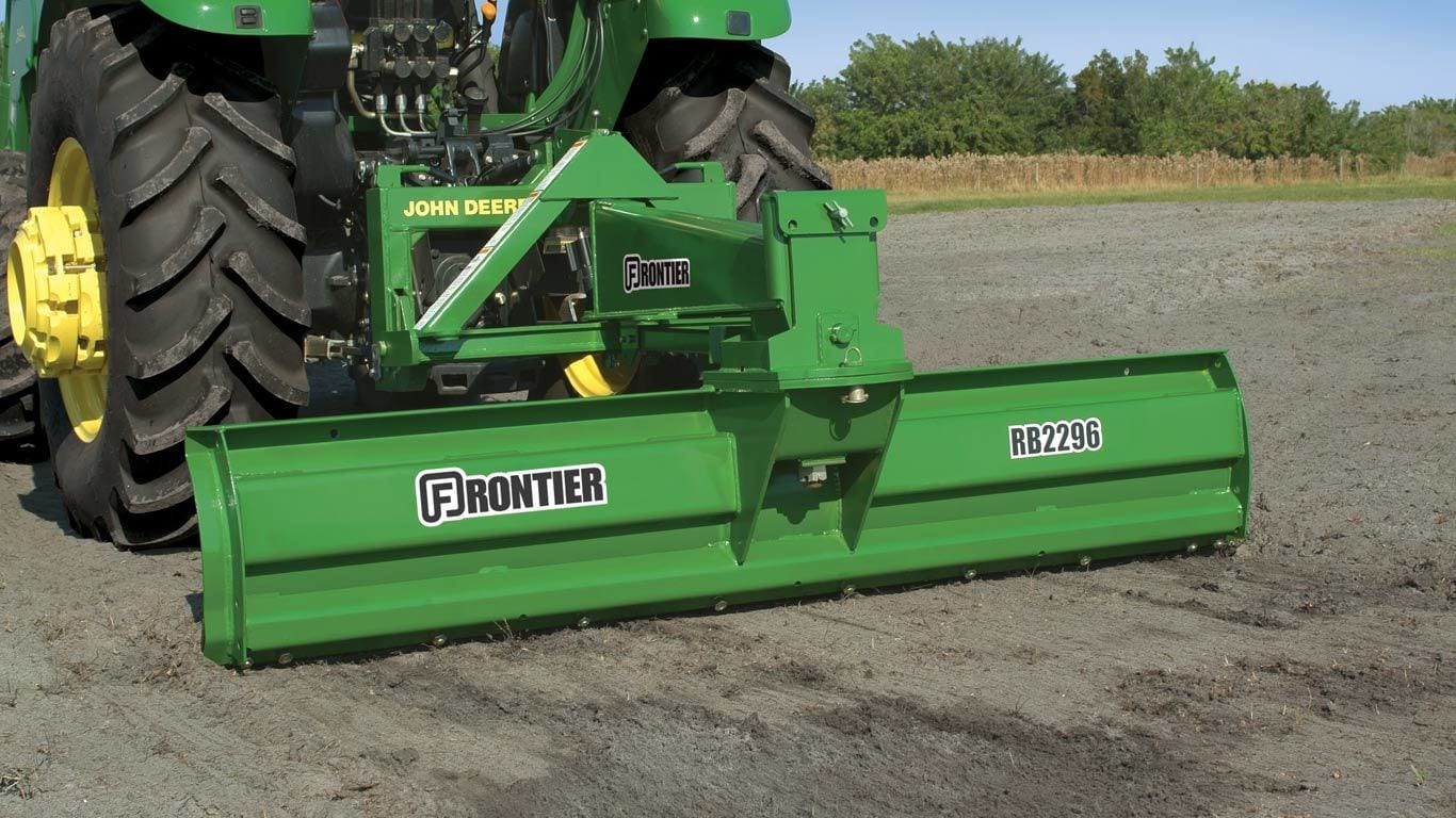 Landscaping Tractor Blades : Landscaping equipment frontier bl point debris