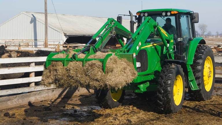 Manure Fork with Grapple