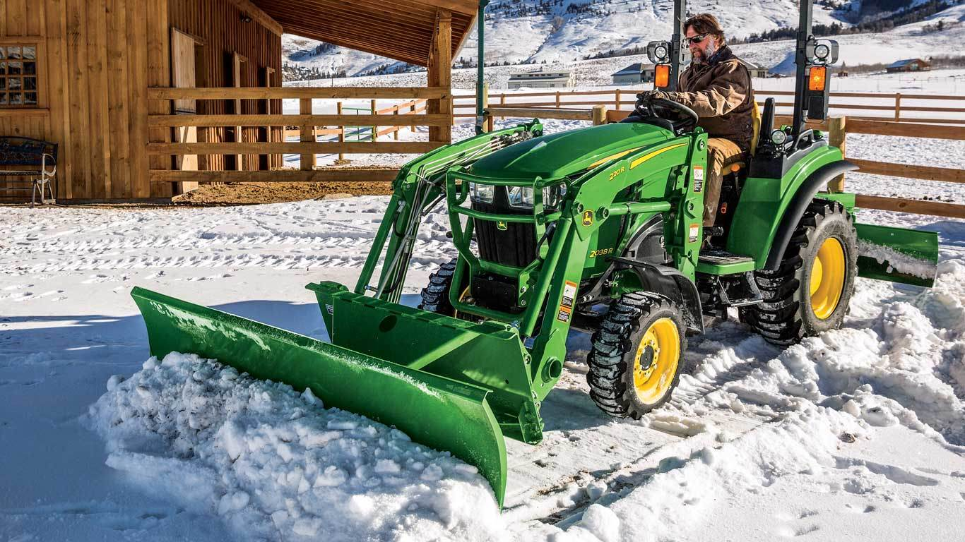 Snow Removal Equipment | Frontier SB21 loader-mount