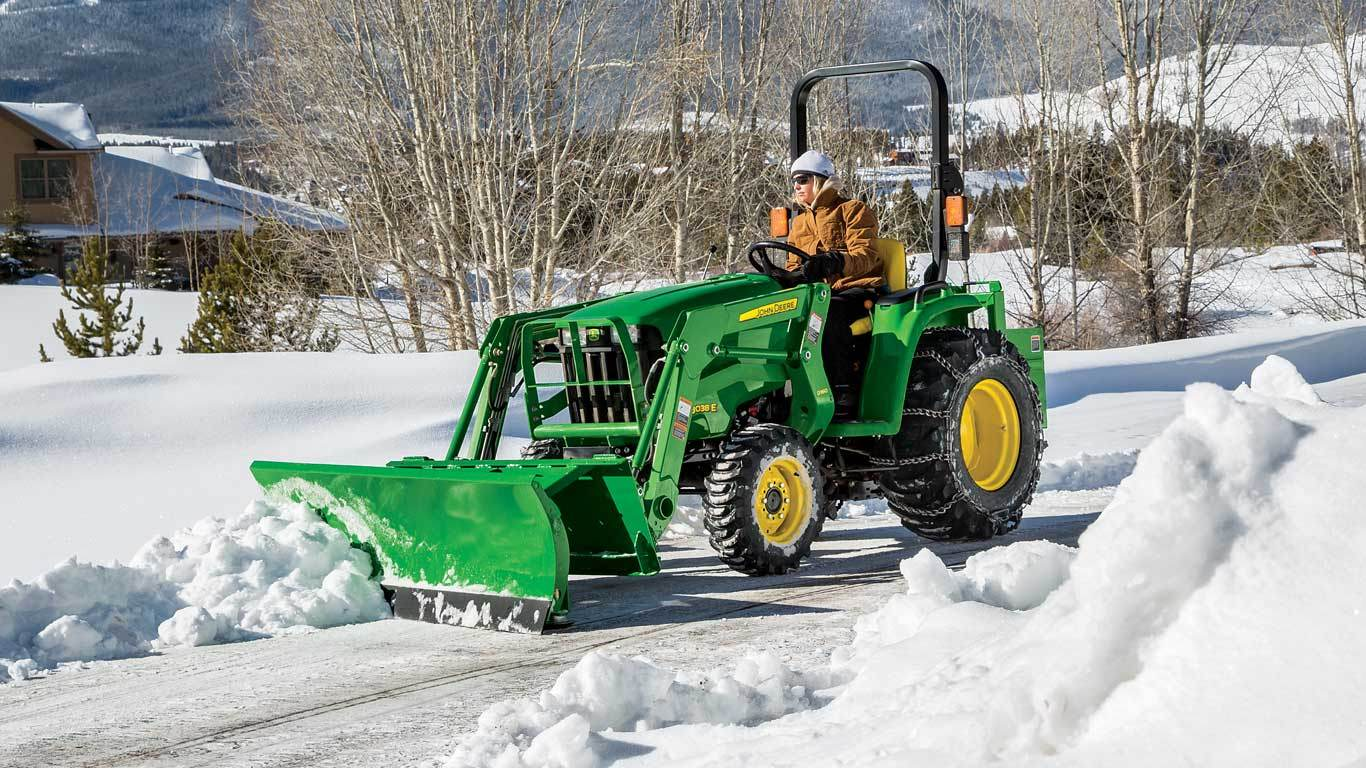 John Deere Razors : Snow removal equipment frontier af g front blades