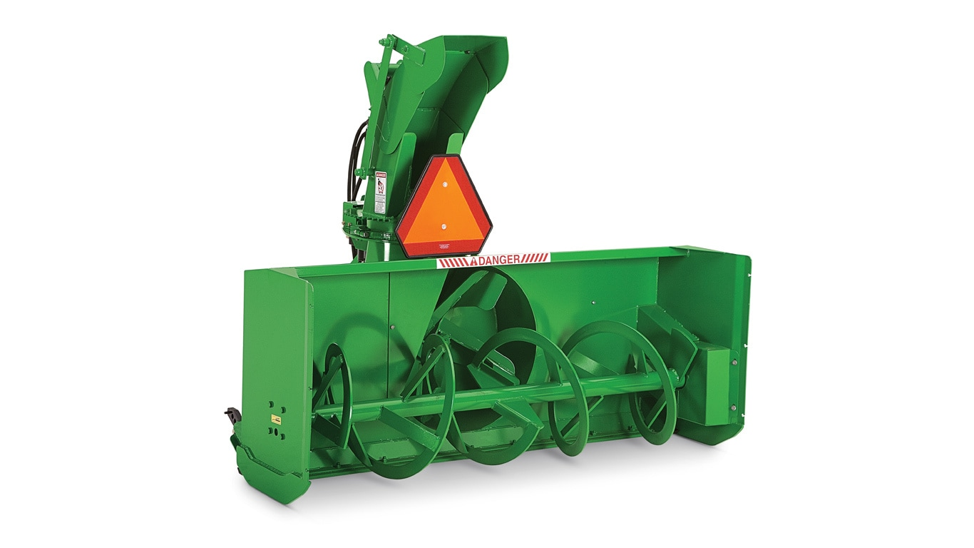 studio image of sb12 snow blower