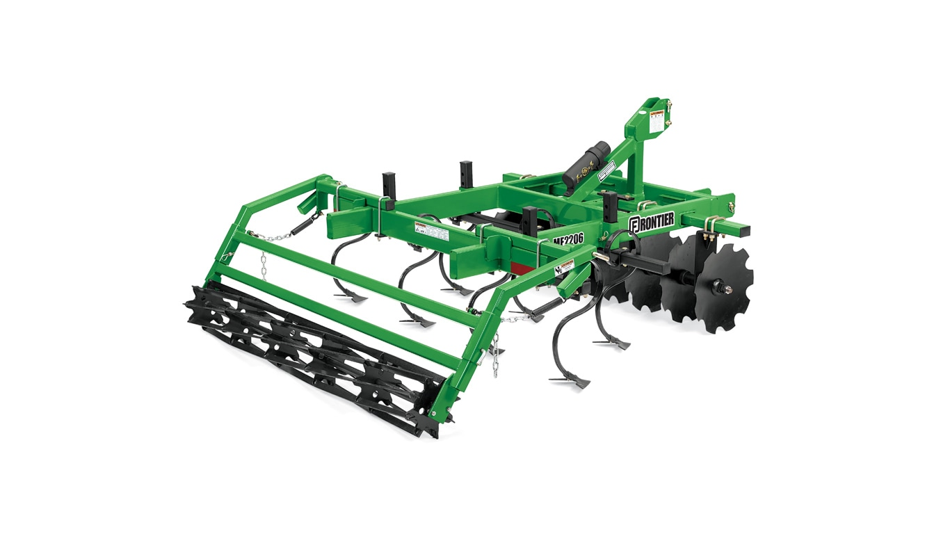 studio image of a Frontier MF22 series mulch finisher