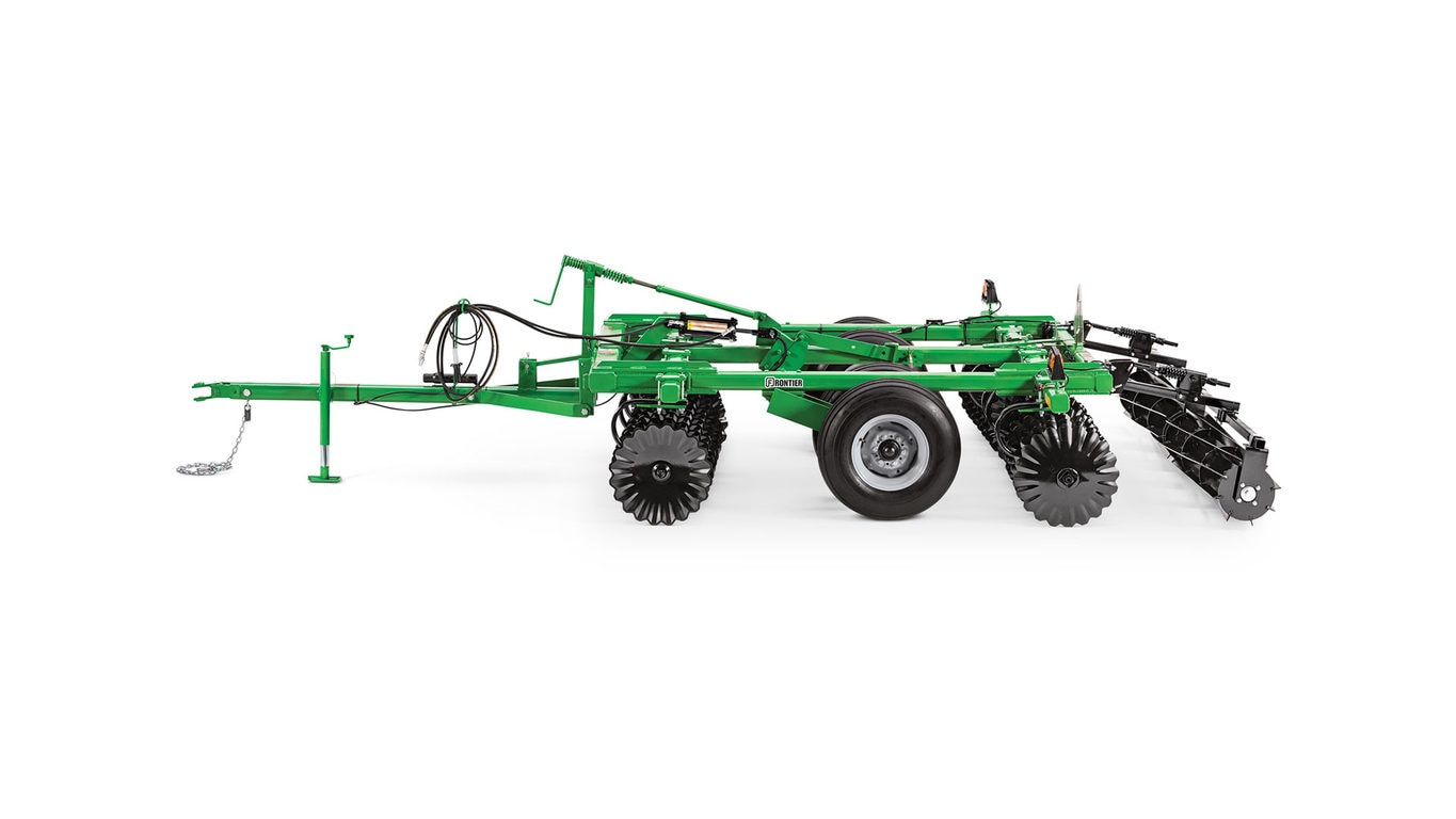 studio image of a Frontier VT17 vertical tillage tool