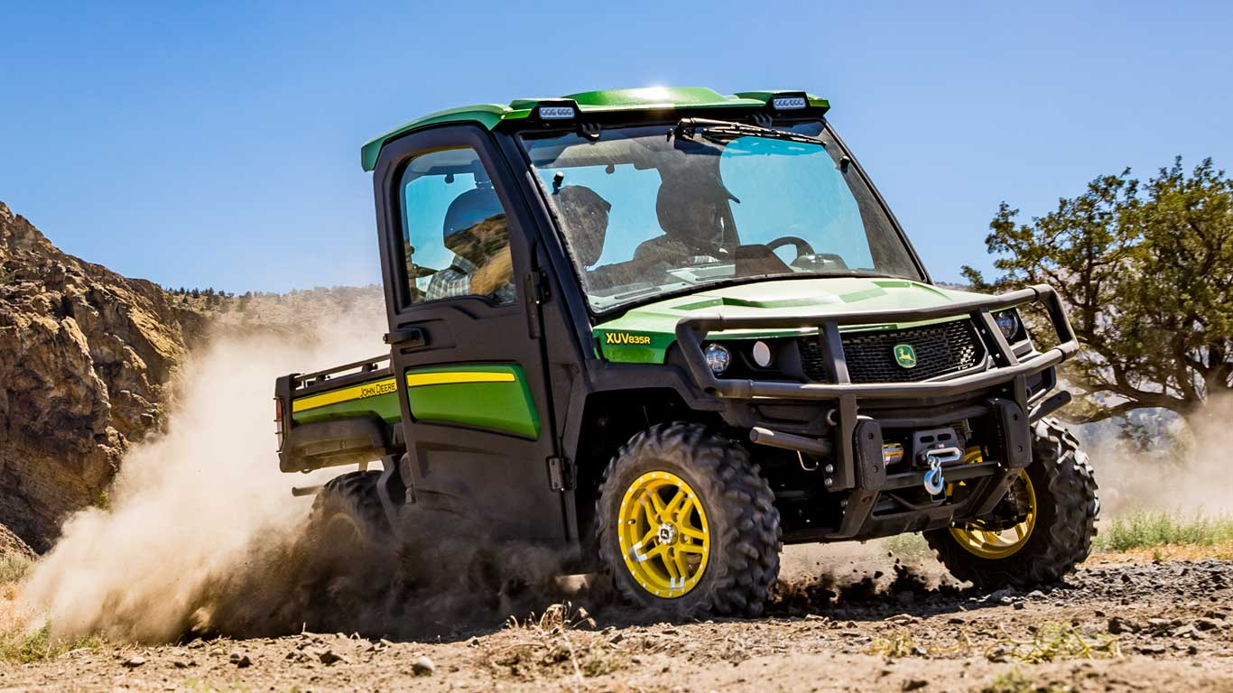 John Deere Gator >> Crossover Utility Vehicles Gator Utility Vehicles John
