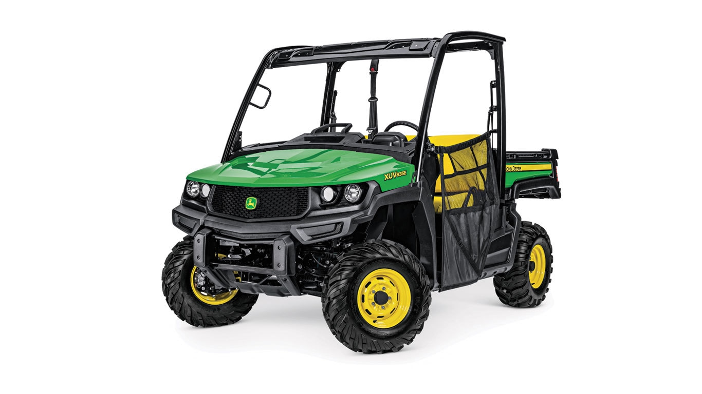Studio image of XUV 835E Gator