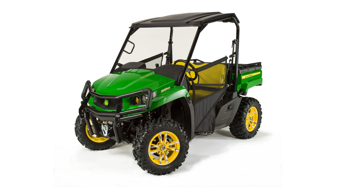 crossover gator utility vehicles xuv865m hvac utility vehicle john deere us. Black Bedroom Furniture Sets. Home Design Ideas