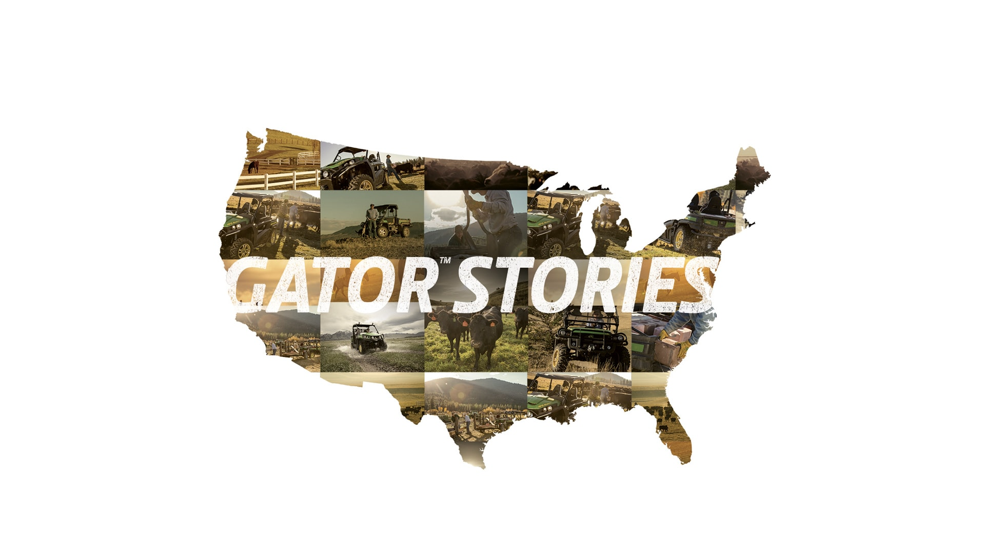 Customized US map for Gators
