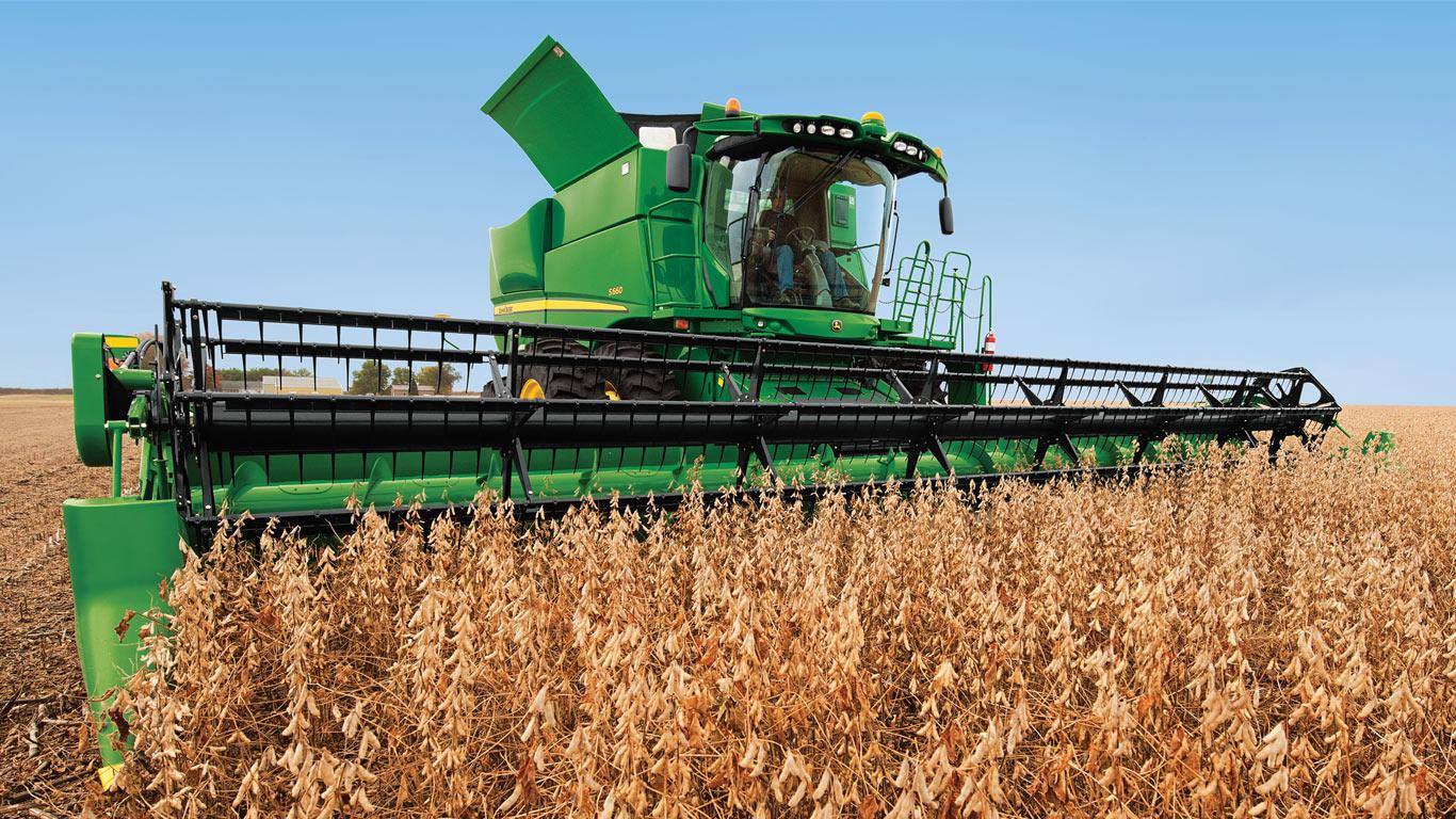 auger in field