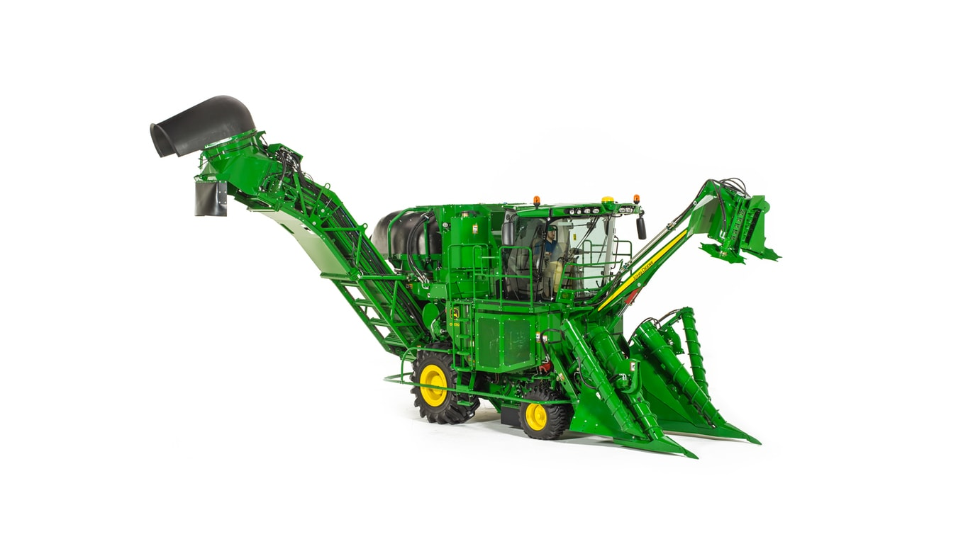 CH570 sugar cane harvester studio shot