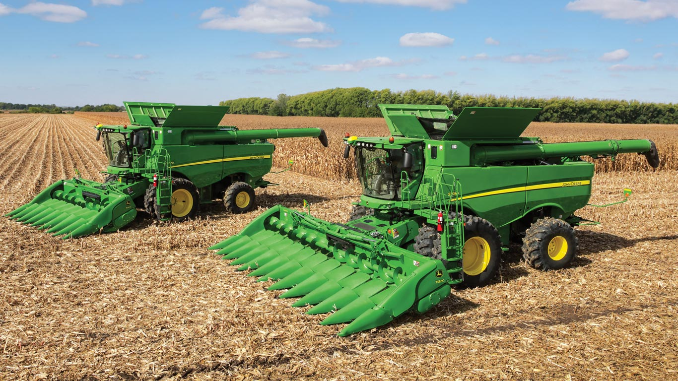 Harvesting Equipment | John Deere SSA