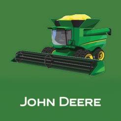 John Deere GoHarvest logo