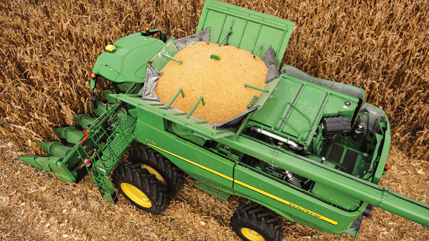 Corn Heads | Harvesting | John Deere US