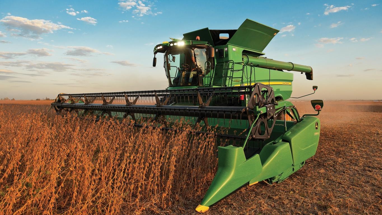 John Deere Combine >> S670 Combine Harvesting John Deere Asia