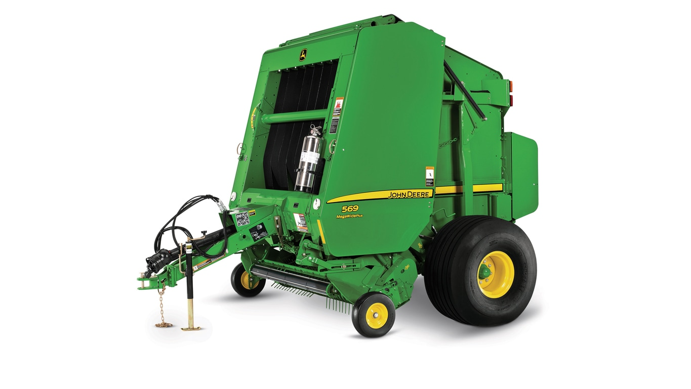 Studio image of 569 Round Baler