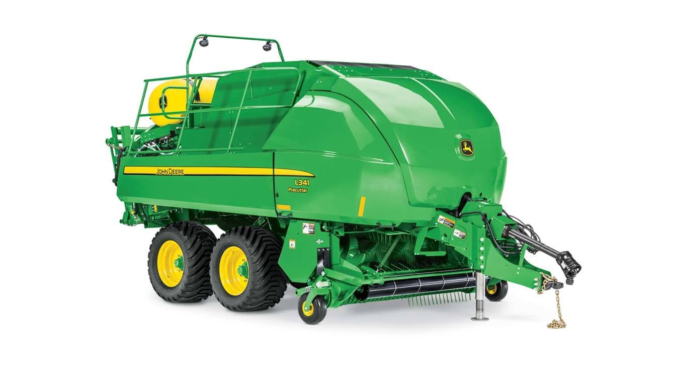 studio image of the L341 large square baler