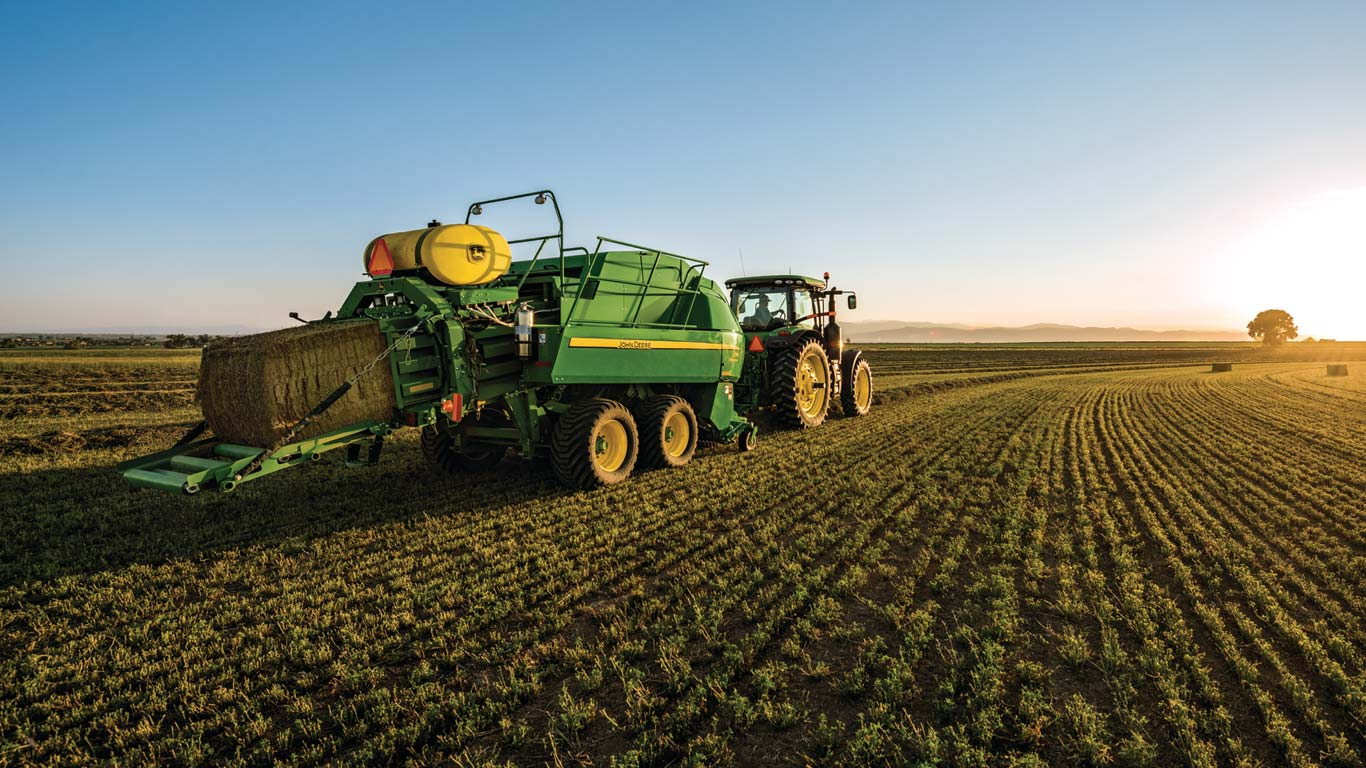 Hay Balers | Forage Equipment | John Deere US