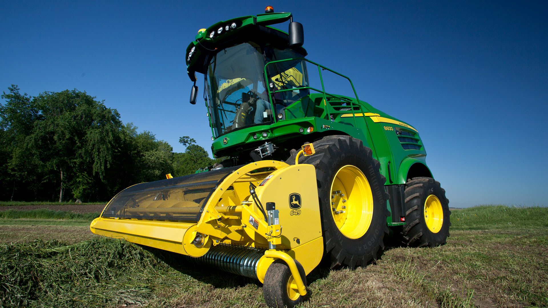 Forage Harvester Pickup photo of machine in field