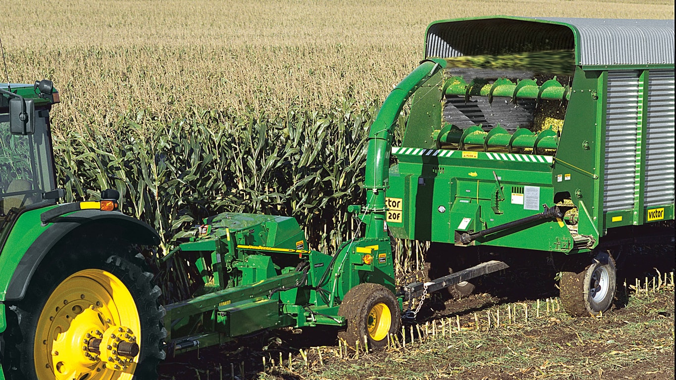 Pull-type Forage Harvester photo of machine
