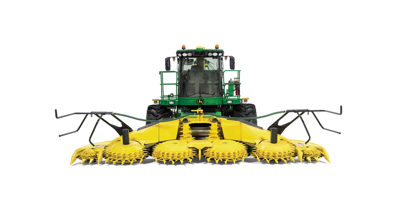 Rotary Harvesting Heads Photo of Machine