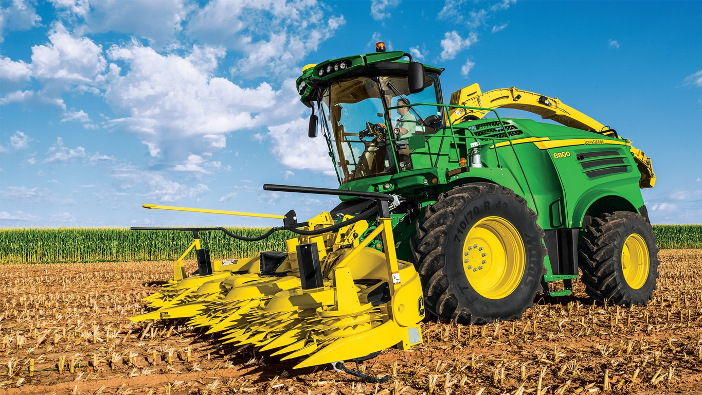 Self-Propelled Forage Harvesters Equipment